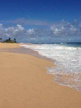 Beach on Oahu