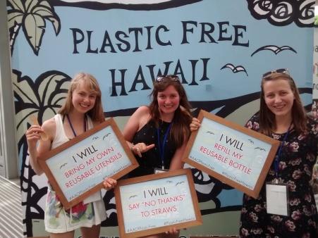 Plastic free congress. Plastic free Hawai'i!